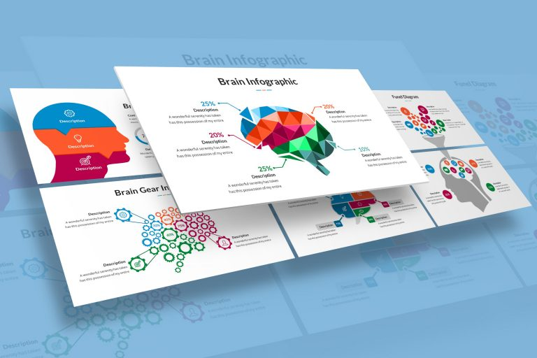 Brain Infographic Presentation Template