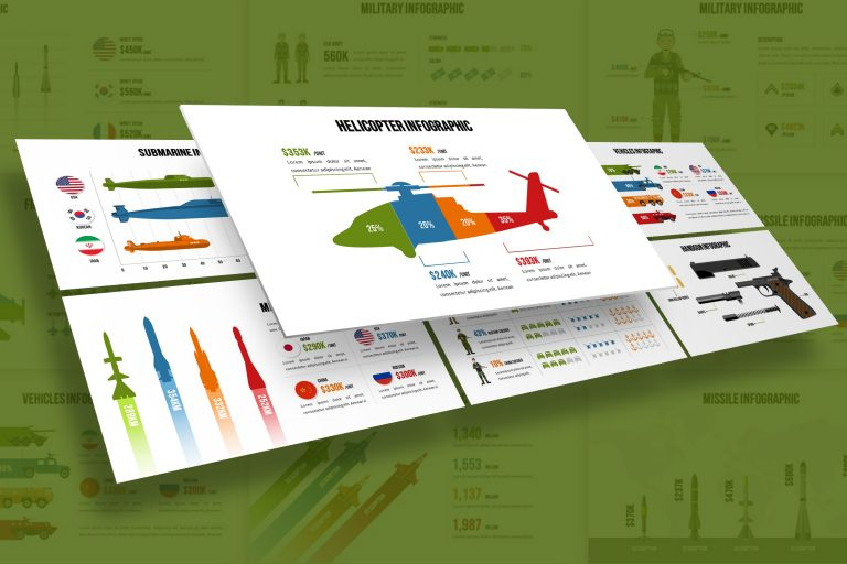 Military Infographic Presentation Template
