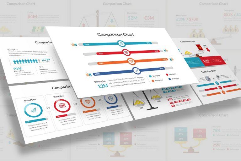 Comparison Diagram Presentation Template