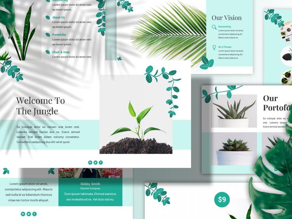 Gardening Presentation Template