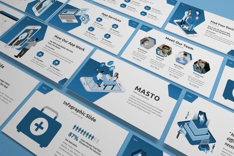 Medical Apps Presentation Template