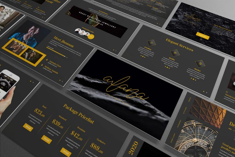 Jewelry Powerpoint Template