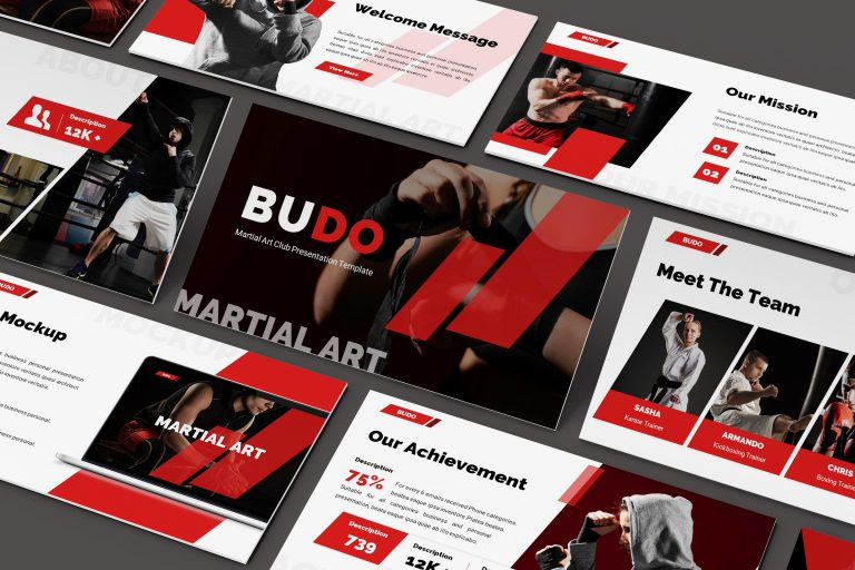 Martial Arts Powerpoint Template