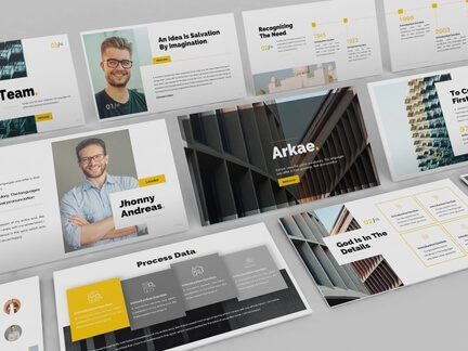 Architecture Powerpoint Template