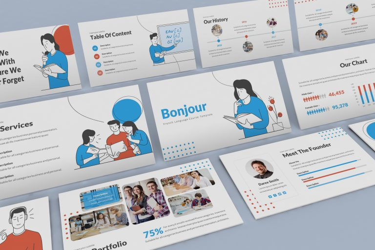 Course Powerpoint Template