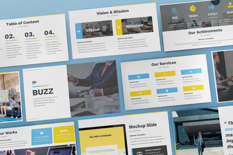 Consultant Powerpoint Template