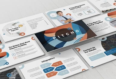Pitchdeck nfographic