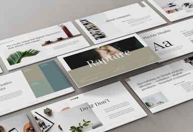 Brandbook Presentation Template