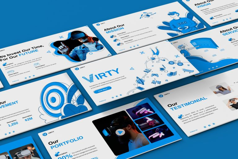 Virtual Reality Presentation Template