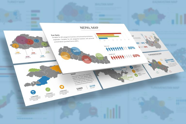 Asia Infographic Presentation Template