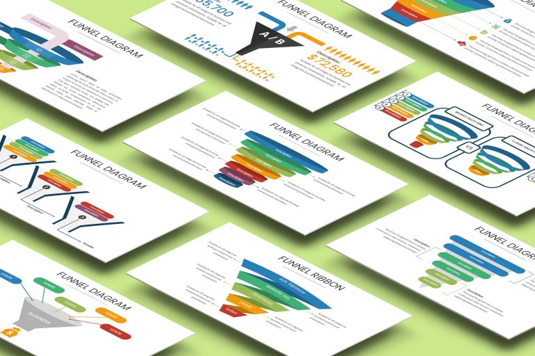 Funnel Chart Presentation Template