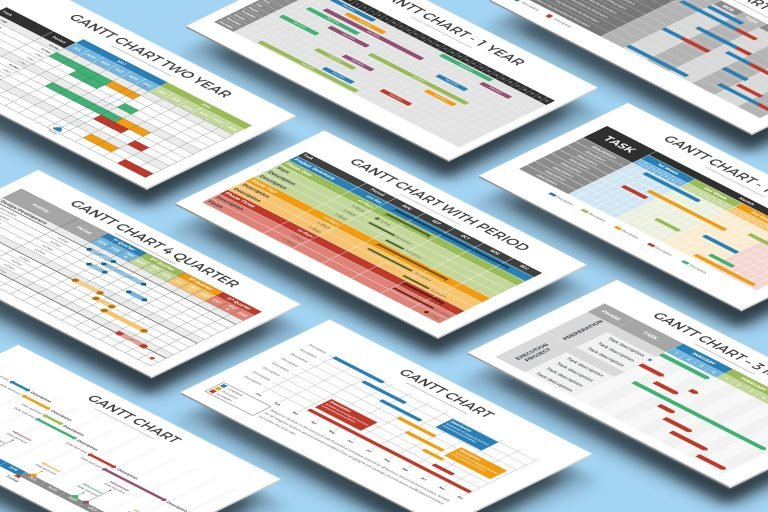 Gantt Chart Presentation Template