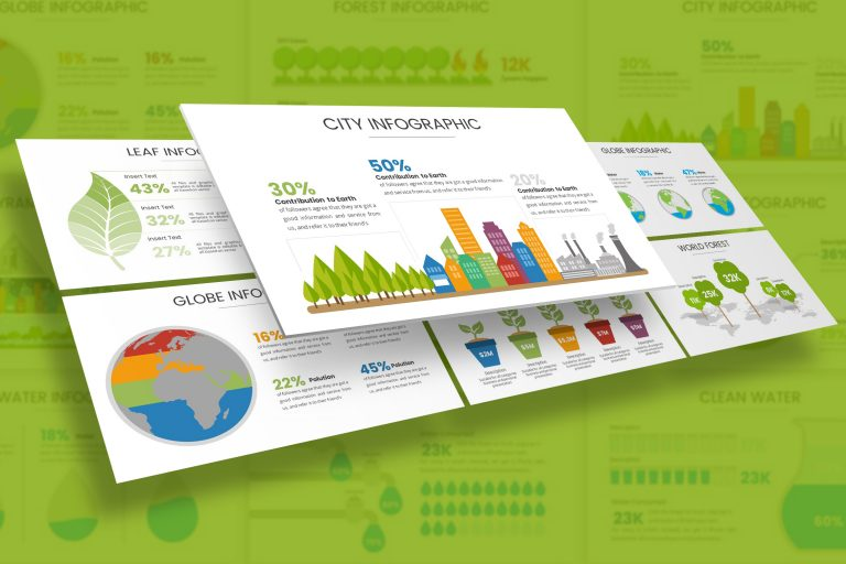 Environment Infographic Presentation Template