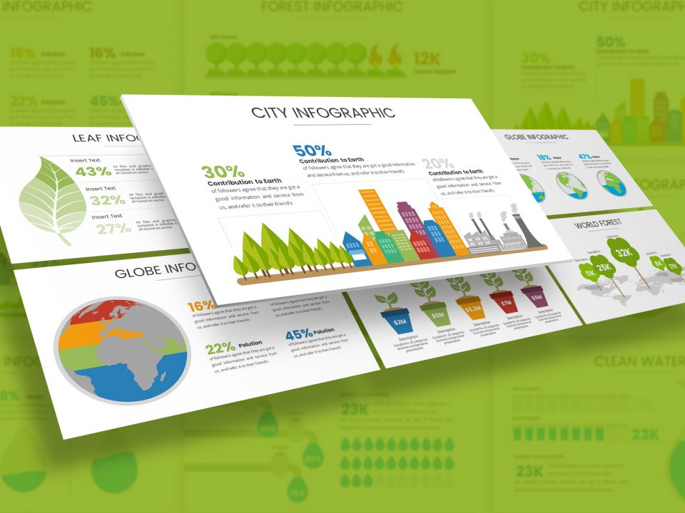 Environment Infographic Presentation Template