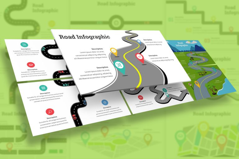 Roadmap Diagram Presentation Template