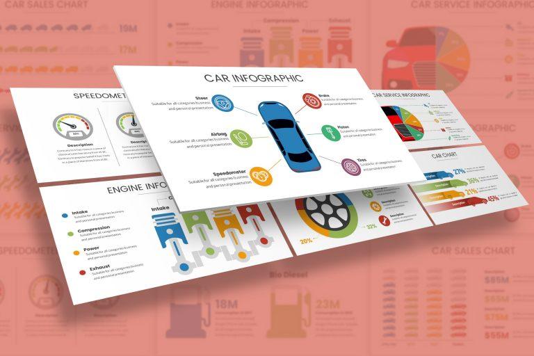 Automotive Infographic Presentation Template