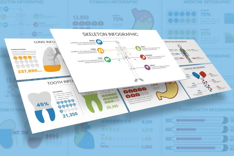 Medical Infographic Presentation Template