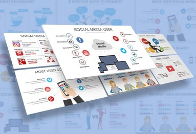 Social Media Infographic Presentation Template