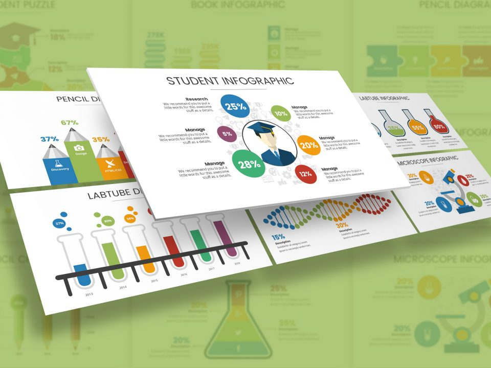 Education & Science Infographic Presentation Template